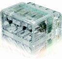 冨士端子工業 VFコネクタ 電線差 型コネクタ 2点接点タイプ PC354 極数 4 クリア 40個入り