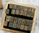 スタンプ ゴムスタンプ アルファベット 文字 数字 絵文字 アルファベット小文字