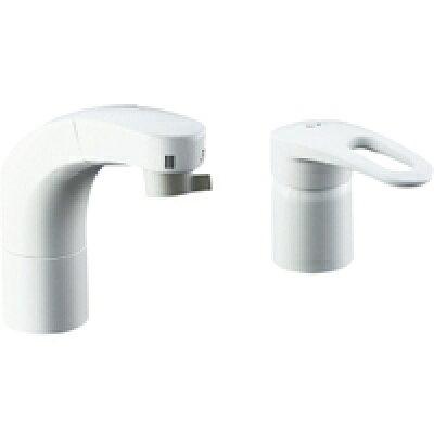 LIXIL INAX 洗面器・手洗器用水栓金具 ホース引出式シングルレバー洗髪シャワー混合水栓 SF-800SYU