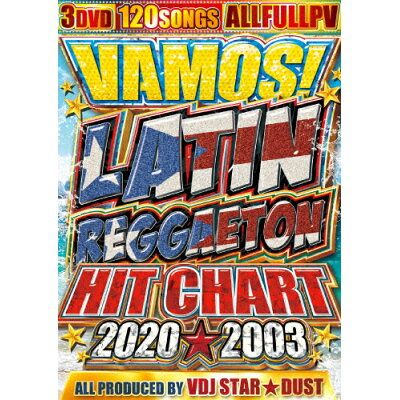 バモス! ラテン・レゲトン・ヒット・チャート 2020★2003/DVD/PR-183
