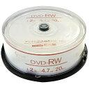 リーダーメディアテクノ DVD-RW GOOD-J GJRW47-2X20PW