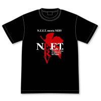 自宅警備補完計画 N.E.E.T. ×NERVコラボマークTシャツ M グルーヴガレージ
