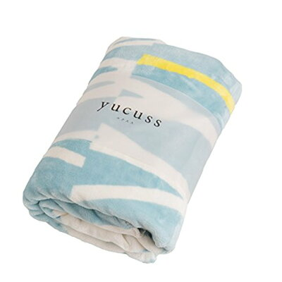 yucussずっとふれていたいブランケット H140×100cm Kodati BL サイズ:140×100 色:ブルー