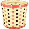FourSeasons/BA-005P ピンク P付 10個/BA-005P 10個 花 資材 花器、ベース バスケット 縦長