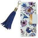 サムライワークス iPhone 7用 Bloem Flower 002 ブルー BLBKI7006Y