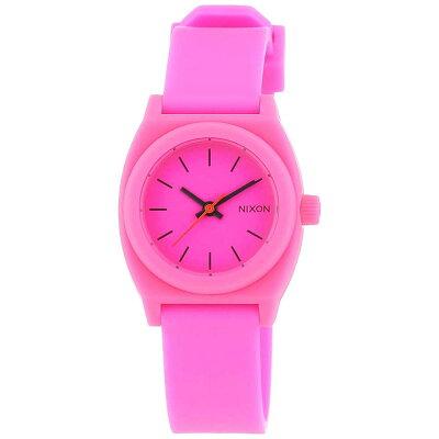 NIXON 腕時計 THE SMALL TIME TELLER P HOT PINKスモール タイムテラー P ホットピンク  NXS-NA425221-00 レディース
