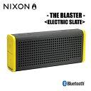 NIXON THE BLASTER ELECTRIC SLATE