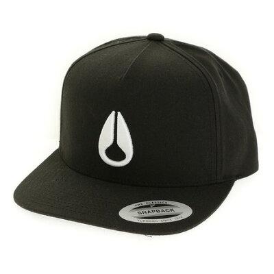 ニクソン ハット NIXON HAT: SIMON / BLACK/WHITE
