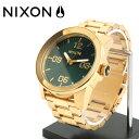 NIXON  腕時計 NA3461919-00 メンズ Corporal SS コーポラルSS Gold/Green Sunray ゴールド/グリーンサンレイ