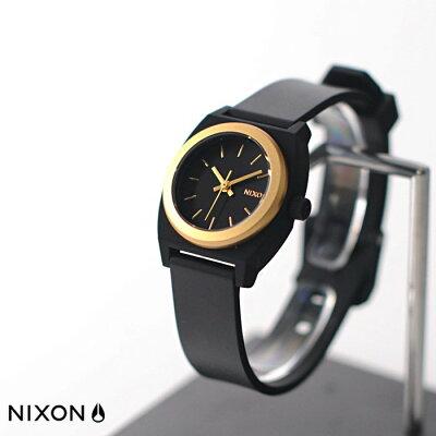 ニクソン / NIXON SMALL TIME TELLER P BLACK/GOLD ANO NA4252030-00 / スモールタイムテラーP / ゴールド/アノ (レディース)