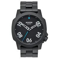 NIXON THE RANGER 40 ALL BLACK(レンジャー 40 オールブラック) NXS-NA468001-00 メンズ