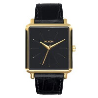 NIXON THE K SQUARED GOLD/BLACK GATOR(Kスクエアード ゴールド/ブラックゲーター) NXS-NA4722022-00 レディース