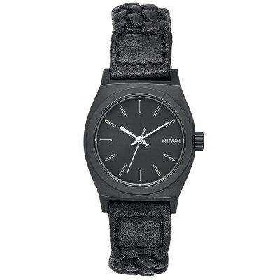 ニクソン 時計 レディース メンズ ペアウォッチ 腕時計 タイムテラー スモールタイムテラーレザー Black Woven NA5092053-00