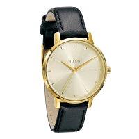 ニクソン NIXON ブレットレザー BULLET LEATHER 腕時計 レディース ローズゴールド/ネイビー NA4732160-00