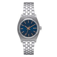 NIXON THE SMALL TIME TELLER スモールタイムテラー レディース腕時計 ネイビー/ローズゴールド NA3992195-00