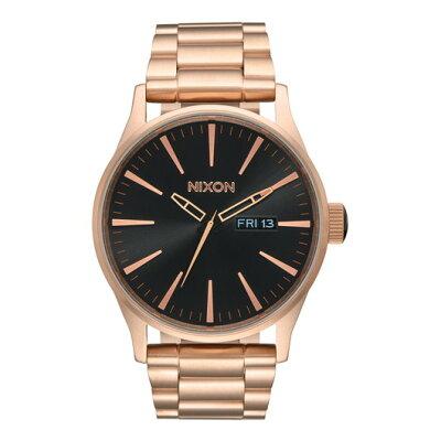 ニクソン NIXON 腕時計 SENTRY SS ALL ROSE GOLD/BLACK NA3561932-00 メンズ