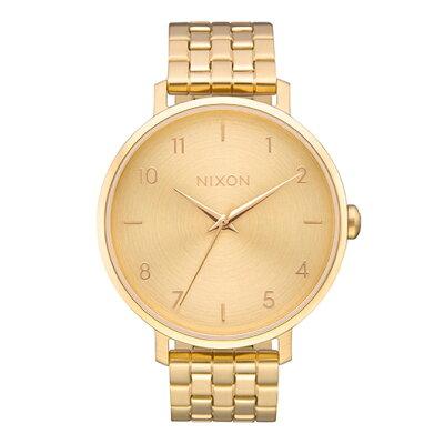 NIXON  THE ARROW アロー レディース腕時計 オールゴールドNA1090502-00