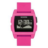 NIXON ベース タイド BASE TIDE 腕時計 レディース パンクピンク NA11042688-00