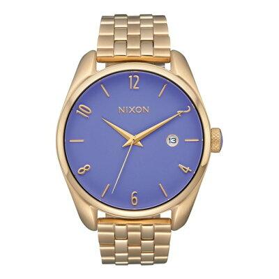NIXON  THE BULLET バレット レディース腕時計 ライトゴールド/ラベンダーNA4182624-00