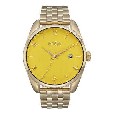 NIXON  THE BULLET バレット レディース腕時計 ライトゴールド/イエローNA4182627-00