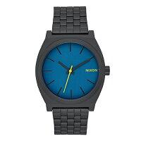 ニクソン NIXON タイムテラー TIME TELLER 腕時計 メンズ/レディース オールブラック/シーポートブルー NA0452755-002017