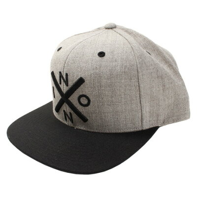 NIXON ニクソン Cap/キャップ/帽子 EXCHANGE SNAPBACK HAT/エクスチェンジ スナップバック ハット NC2066671-00