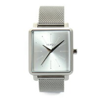 NIXON K スクエアード ミラネーゼ K SQUARED MILANESE 腕時計 レディース オールシルバー NA12061920-002017