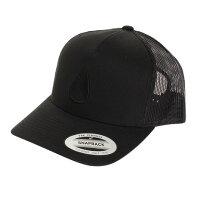 ICONED TRUCKER HAT NC1862004-00 BLACK/BLACK