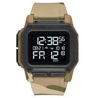 ニクソン NIXON レグルス REGULUS 腕時計 メンズ マルチカム MULTICAM NA11802865-002018