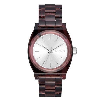 ニクソン NIXON ミディアム MEDIUM TIME TELLER ACETATE 腕時計 レディース RED NA1214200-002018