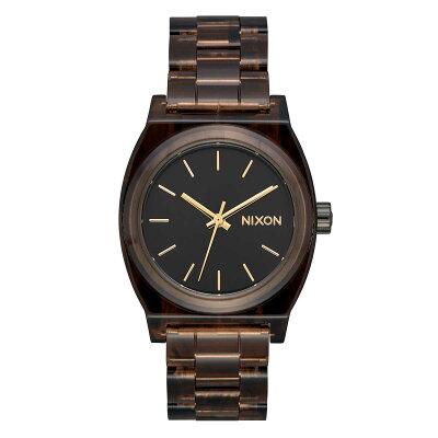 ニクソン NIXON ミディアム MEDIUM TIME TELLER ACETATE 腕時計 レディース BROWN NA1214400-002018