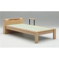 グランツ GLANZ ベッドフレーム 畳ベッド スミカ (セミダブル・ブラウン・キャビネットタイプ)