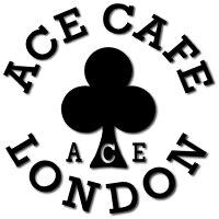 ACECAFE LONDON エースカフェロンドン ステッカー・デカール デカール ・ネイキッド カラー:ブラック