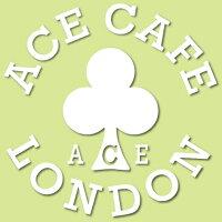 ACECAFE LONDON エースカフェロンドン ステッカー・デカール デカール ・ネイキッド カラー:ホワイト