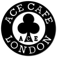 ACECAFE LONDON エースカフェロンドン ステッカー・デカール デカール ・サークル 70 カラー:ブラック