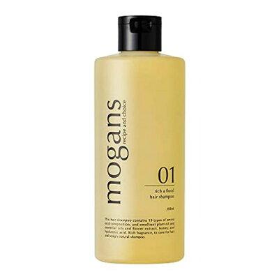 モーガンズ ヘアシャンプー リッチ&フローラル 自然派/ダメージケア/ノンシリコン/ch h-151125