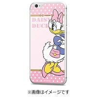 エムディーシー iPhone 6s 6用 Disney背面ガラス デイジーダック ドット GLASS6-71448