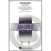 楽譜 メモリー キャッツ より SATB: 混声四部合唱 MEMORY FROM CATS SATB 輸入楽譜