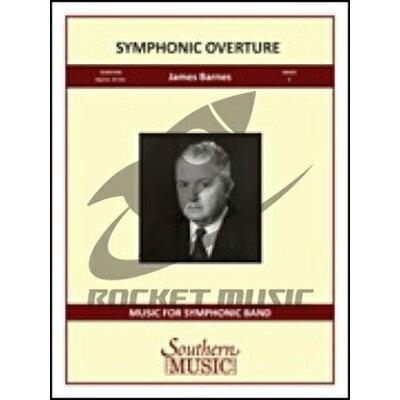 楽譜 交響的序曲 スコア 輸入吹奏楽譜 Only score - SYMPHONIC OVERTURE 輸入楽譜