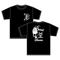 クローズ&WORST BSF 武装戦線イングリッシュフォント Tシャツ/ブラック-S CYP
