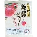 日本こんにゃく村 蒟蒻ゼリー りんご 220g