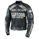 YeLLOW CORN YB-7109 ハイウェイマジシャンチタンメッシュジャケット(ブラック/ブラック) L