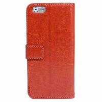 aglowDESIGNアグロウデザインiPhone6 スタンダード手帳型レザーケース(ブラウン)IQ-IP6SU-BR