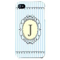CF ltd アルファベット J サックス (クリア) / for iPhone 4S/au