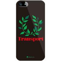 ケース/ソフトバンク/softbank Transport Laurel ブラック (クリア) / for iPhone 5s/SoftBank (SECOND SKIN)
