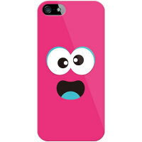 docomo ベイビーモンスター ピンク (ソフトTPUクリア) / for iPhone 5s/docomo (YESNO)(ソフトケース)