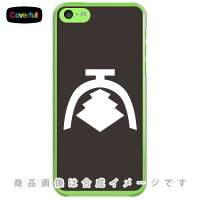 家紋シリーズ 大草庵 (おおくさいおり) / for iPhone 5c/SoftBank (カバフル)
