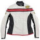 BATES ベイツ ライディングジャケット パンチホールシンセティックレザーシャツ サイズ:レディースL