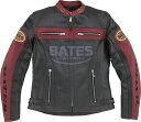 BATES ベイツ 2Way パンチドホールレザージャケット