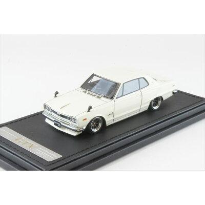 1/43 Nissan Skyline 2000 GT-X KGC10 White イグニッションモデル